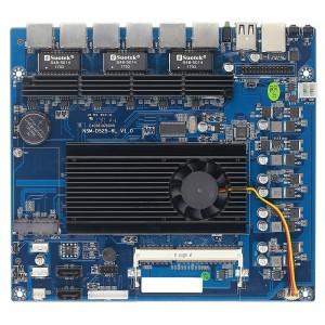 Atom D525 网安软路由主板 Intel 82574L 6千兆网卡