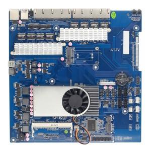 赛扬1037U 8网口网络安全工控主板