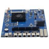 酷睿i5 6200U 软路由工控主板 6千兆网卡 2千兆光口