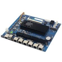 Intel 凌动 D510 6千兆多网口软路由工控主板