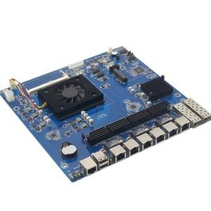 Skylake酷睿六代I3 6100U 多网口网络安全工控主板