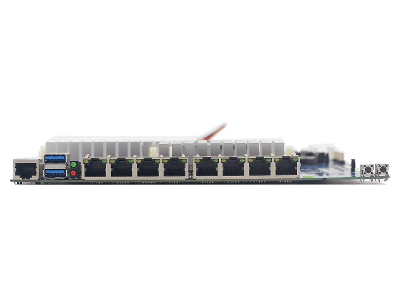 奔腾 2117U 82574L 8千兆网口软路由主板